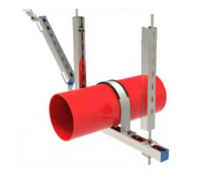 DN200以上单管侧向抗震支架